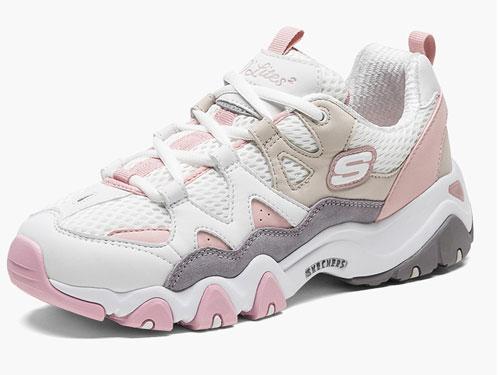 Skechers斯凯奇男女厚底老爹鞋运动鞋