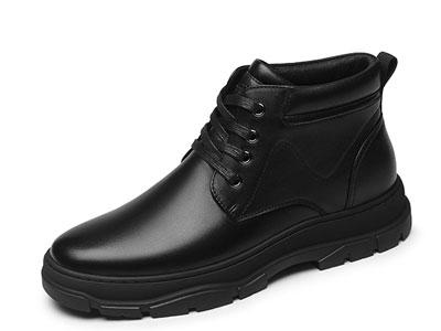 金利来男鞋2019冬季新款系带靴子