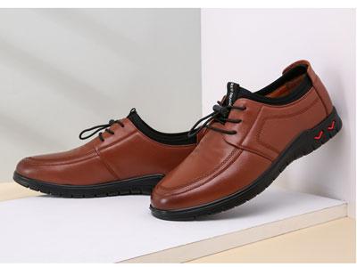 红蜻蜓男皮鞋韩版小青年2019新款秋季潮流