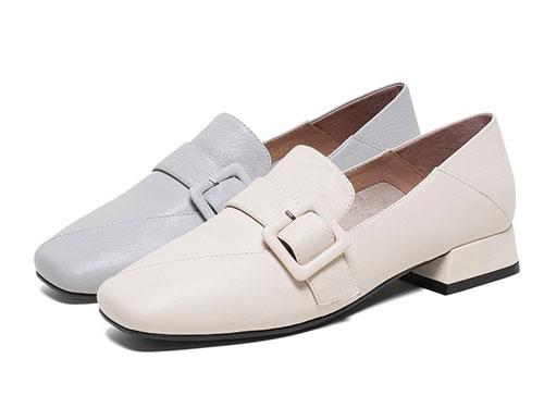 Teenmix天美意2020春气质通勤乐福鞋