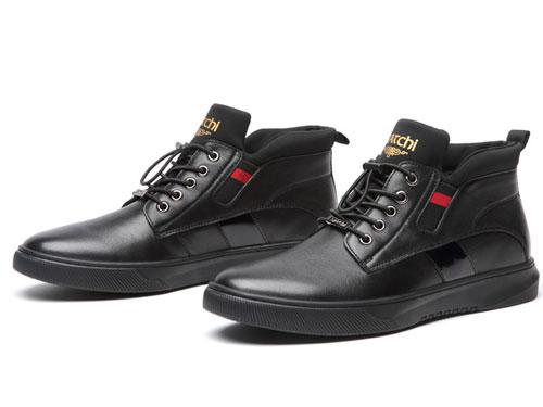2019沙驰韩版青年棉靴棉鞋休闲鞋