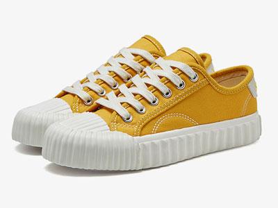 卓诗尼女鞋2020年春季单鞋女街头潮流帆布鞋