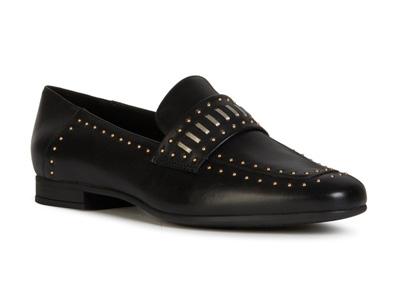 GEOX健乐士女鞋MARLYNA新款一脚蹬鞋