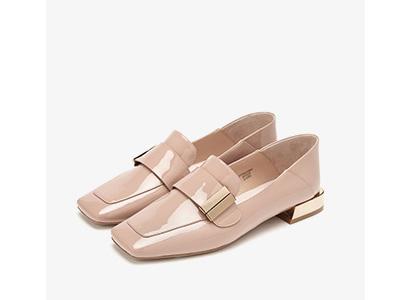 73Hours-Mia2020春季新款平底鞋乐福鞋