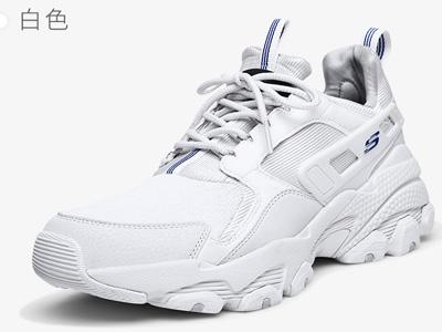 Skechers斯凯奇男鞋时尚复古厚底老爹鞋