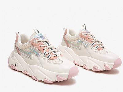 柯玛妮克-2020春夏女小白鞋新款