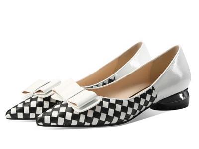 柯玛妮克2020春夏新款小皮鞋百搭舒适一脚蹬
