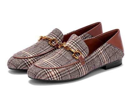 贝妃尼欧货乐福鞋2020春款真皮单鞋