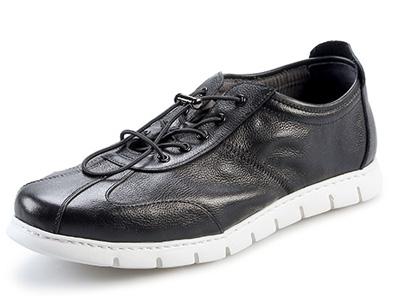 Hongkee红科男鞋休闲男士牛皮单鞋时尚