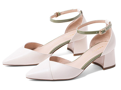comely康莉2020夏季新款一字扣带单鞋