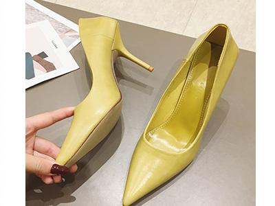 印象风2020春季新款浅口单鞋时尚气质