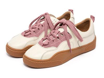 茵曼女鞋轻便小白鞋复古鞋子女2020潮鞋百搭