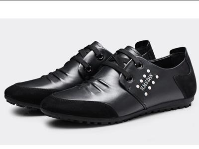 杰豪品牌男鞋2020年度夏秋日常休闲男士真皮鞋