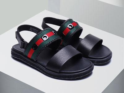 blai-hilton布莱希尔顿真皮潮牌运动休闲沙滩凉鞋