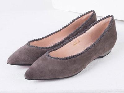Fondberyl菲伯丽尔女鞋春夏时尚浅口尖头舒适低跟