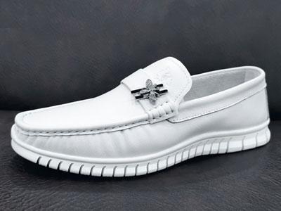 美国骆驼2020春款新品休闲男鞋-欧版豆豆鞋