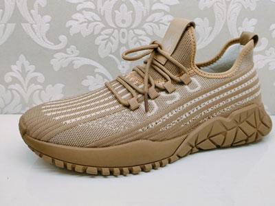 美国骆驼春款新品休闲男鞋-欧版潮流运动飞织