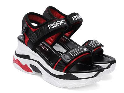 台湾红蜻蜓企业有限公司RD运动凉鞋女鞋