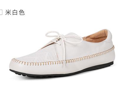 OZZEG豆豆鞋男真皮春夏2020新款休闲鞋一脚套