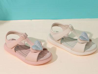 比比我女童凉鞋2020夏季新款时尚儿童公主鞋