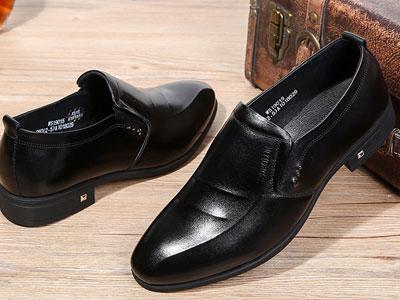 圣帝罗阑2020春季新款英伦商务男士皮鞋