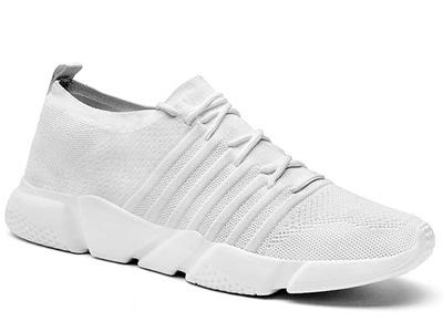 2020夏季新款飞织潮鞋子男士运动休闲鞋绅诺
