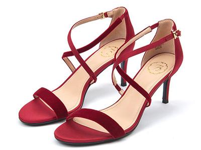 73Hours女鞋一字带仙女风高跟鞋