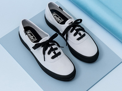 Keds女鞋厚底小白鞋松糕底鞋