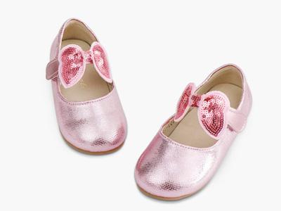 明璐女童宝宝皮鞋公主鞋小童单鞋