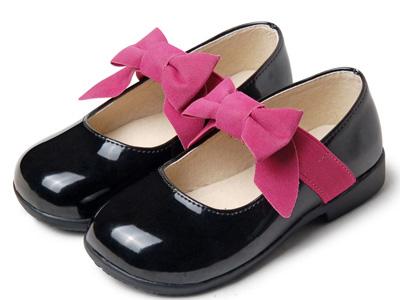 卡卡树女童皮鞋2020春款真皮公主鞋