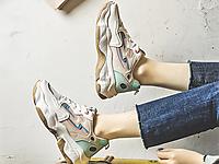 都市比拉女鞋新款2020潮流老爹鞋