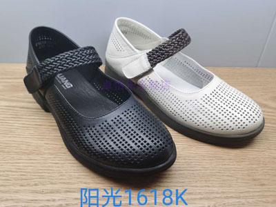 阳光Y.GUANG女鞋2020夏新款洞洞凉单鞋1