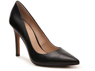 VINCE-CAEUTO职业尖头浅口女鞋高跟鞋细跟皮鞋