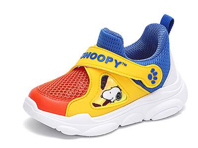 史努比童鞋男童休闲网面运动鞋2020年夏季新款