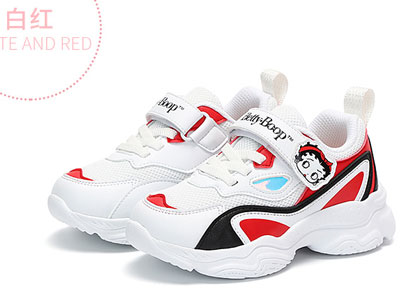 贝蒂童鞋女童休闲儿童运动鞋秋季新款