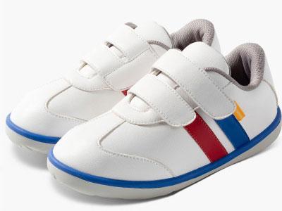 小蓝羊童鞋新款复古风格男女小童宝宝学步鞋