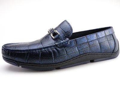 SIDAN斯丹男士头层牛皮春夏日常休闲豆豆鞋
