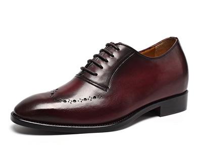 GOLDMoral金墨瑞男士正装增高鞋皮鞋增高7CM