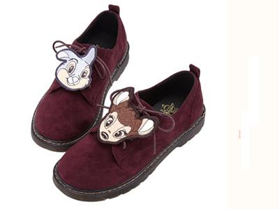 Gracegift乐福鞋2020新款低跟学院风单鞋