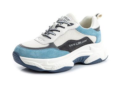 可美可莉老爹鞋真皮女鞋新款2020韩版运动鞋潮