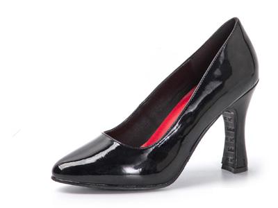芭芭拉模特鞋高跟鞋走秀粗跟女鞋