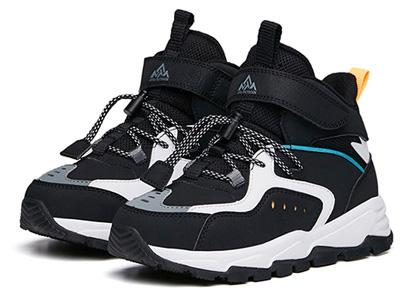 安踏儿童鞋小童冬季新高帮加绒棉鞋男女童运动鞋