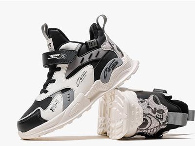 七波辉男童运动鞋2021新款冬季儿童鞋