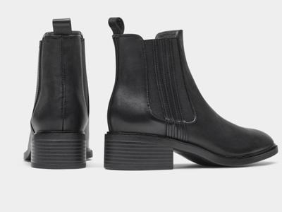 接吻猫2021年秋季新款复古经典中筒短靴子