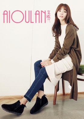 艾�W�m致力打造中高端女鞋品牌 招商�峋�: