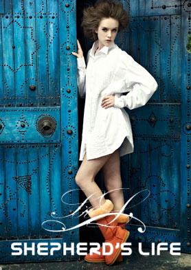 牧羊人生女鞋 引领着国际雪地靴时尚潮流 招商热线:0512-65461120