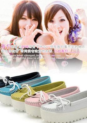 古优CUUYUU 致力于引领都市知识女性的时尚穿鞋品味 招商热线:86-0595-85699480