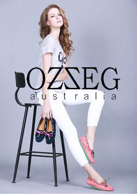 OZZEG休闲鞋―轻奢舒适 源于手工 招商热线:020 37158310 18925034253
