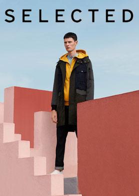 SELECTED思莱德为20到45岁的时尚男士设计 招商热线: