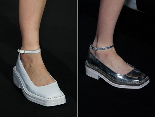 巴黎时装周2014春夏新款鞋大盘点